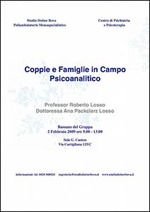 Coppie e Famiglie in Campo Psicoanalitico