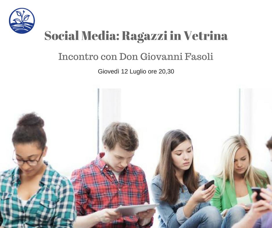 Social Media: Ragazzi in Vetrina